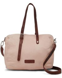 Liebeskind Berlin - Small Tumble Wash Leather Satchel - Lyst