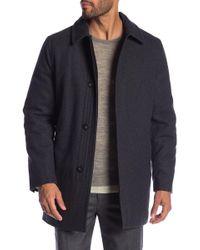 Hart Schaffner Marx - Barcelona Wool Blend Coat - Lyst