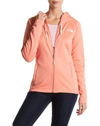 The North Face - Momentum Front Zip Hoodie - Lyst