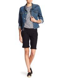 Hue - Essential Boyfriend Cuffed Shorts - Lyst