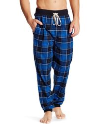 Original Penguin - Plaid Lounge Jogger Pants - Lyst