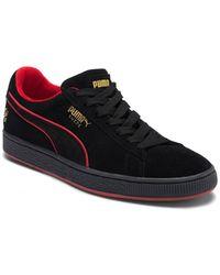Lyst - PUMA X Fubu Suede Classic Sneaker in Black for Men 3f5275028