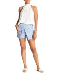 Do+Be Collection - Pinstripe Shorts - Lyst