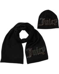 Juicy Couture - Scarf & Beanie 2-piece Set - Lyst