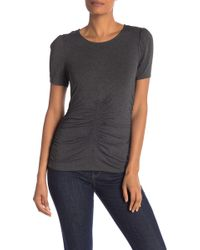 Vince Camuto - Ruched Tee - Lyst