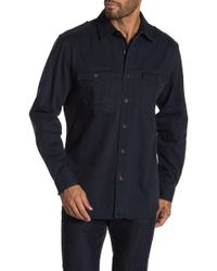 Weatherproof - Washed Solid Shirt - Lyst