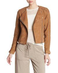 Liebeskind Berlin - Suede Leather Jacket - Lyst