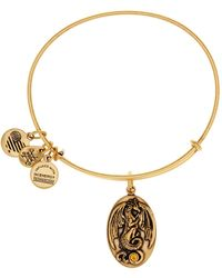 ALEX AND ANI - Dragon Expandable Wire Bangle - Lyst