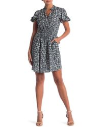 Rebecca Taylor - Short Sleeve Capucine Dress - Lyst