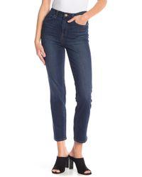 William Rast - Highrise Slim Straight Jeans - Lyst