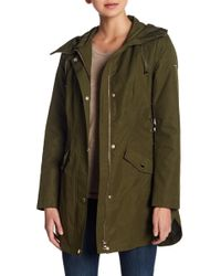 Guess - Hooded Anorak - Lyst