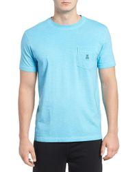 Psycho Bunny - Sunwash Pocket T-shirt - Lyst