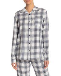 Pj Salvage - Plaid Please Flannel Pj Shirt - Lyst