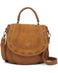 Lucky Brand - Kady Leather Flap Bag - Lyst