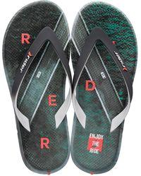 Rider R1 Energy Flip Flops - Green
