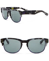 Nike - Volition 54mm Clubmaster Sunglasses - Lyst