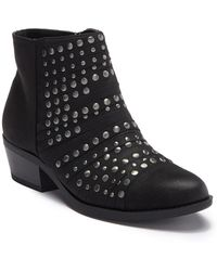 White Mountain Footwear - Desire Studded Ankle Bootie - Lyst