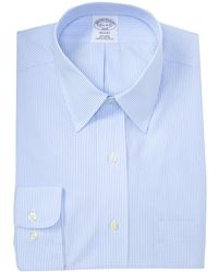 Brooks Brothers - Slim Stripe Regent Fit Dress Shirt - Lyst