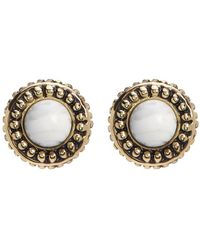 House of Harlow 1960 - Cuzco Howlite Stud Earrings - Lyst