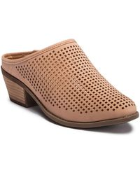 Me Too - Perforated Mule - Lyst
