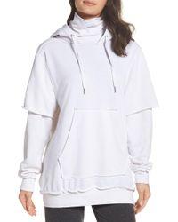 The Laundry Room - Good Hood Sweatshirt Dress - Lyst