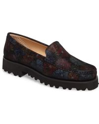 Ron White - Rita Floral Water Resistant Penny Loafer - Lyst