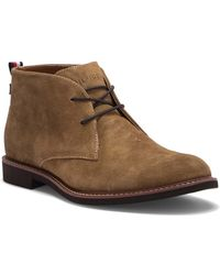 Tommy Hilfiger - Gervis Suede Lace-up Boot - Lyst