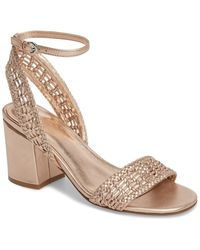 Marc Fisher - Amere Ankle Strap Sandal (women) - Lyst