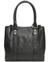Frye - Melissa Smooth Leather Tote - Lyst