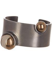 Tomas Maier - Inset Bead Cuff Bracelet - Lyst