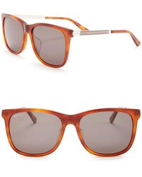 Gucci - Oversized 56mm Sunglasses - Lyst