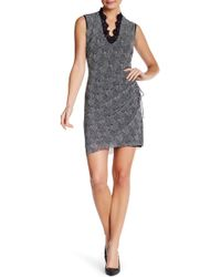 Vivienne Tam - Fan Print Cheongsam Dress - Lyst