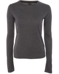 TOPSHOP - Boutique Long Sleeve Tee - Lyst