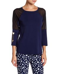 Warrior by Danica Patrick Active - Mesh 3/4 Length Sleeve Tee - Lyst