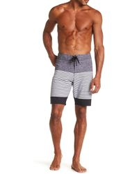 Micros - Stretch Stripe Boardshort - Lyst