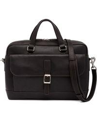 Frye - Oliver 2 Handle Leather Messenger Bag - Lyst