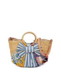 Sam Edelman - Jaelynn Straw Paper Basket Shoulder Bag - Lyst