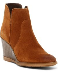 Kenneth Cole Reaction - Dot-ation Wedge Bootie - Lyst