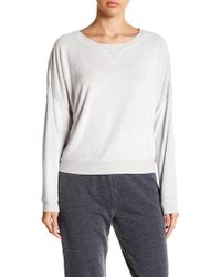 Room Service - Pajama Long Sleeve Top - Lyst