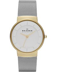 Skagen - Women's Nicoline Mesh Bracelet Watch, 32mm - Lyst