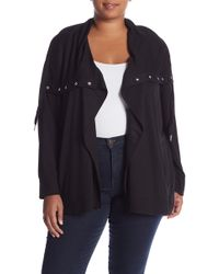 Cable & Gauge - Shawl Collar Cardigan (plus Size) - Lyst