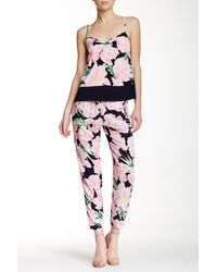 French Connection - Floral Pajama Pant - Lyst
