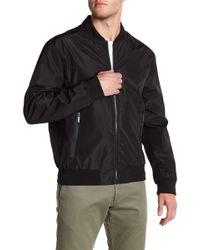 Andrew Marc - Bomber Jacket - Lyst