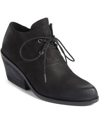 Eileen Fisher - Charlie Leather Bootie - Lyst
