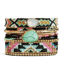 Hipanema - Dahlia Beaded Bracelet - Lyst