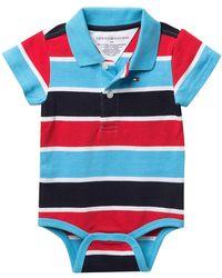 51af967686f4 Lyst - Tommy Hilfiger Wally Bodysuit (baby Boys) in Red
