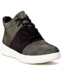 3d03e08cd408 Puma Fierce Lizard-embossed High-top Sneaker in Metallic - Lyst