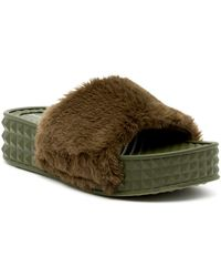 Dirty Laundry - Sonny Faux Fur Slide Sandal - Lyst