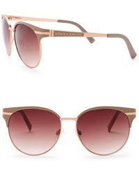 Vince Camuto - Clubmaster 51mm Metal Frame Sunglasses - Lyst