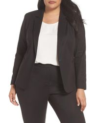 Vince Camuto - Lace-up Back Blazer - Lyst